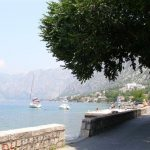 kotor, crna gora, more, plaža, brod