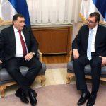 Sutra sastanak Vučića i Dodika