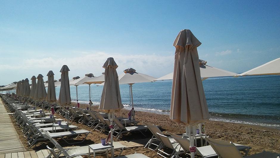 U Grčkoj ležaljka - do 500 evra!