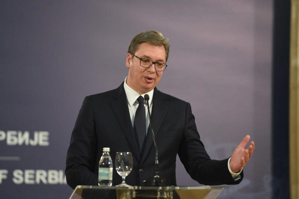 Vučić Trampu čestitao Dan nezavisnosti i pozvao ga da poseti Srbiju