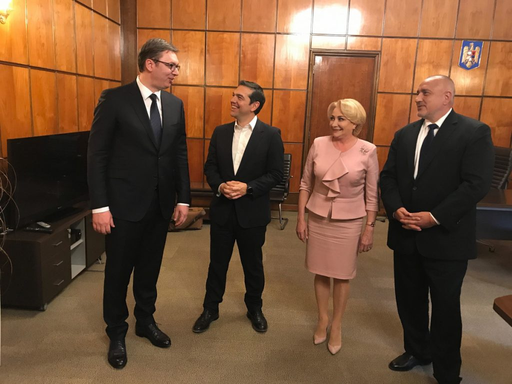 Vučić danas na sastanku balkanske četvorke u Solunu