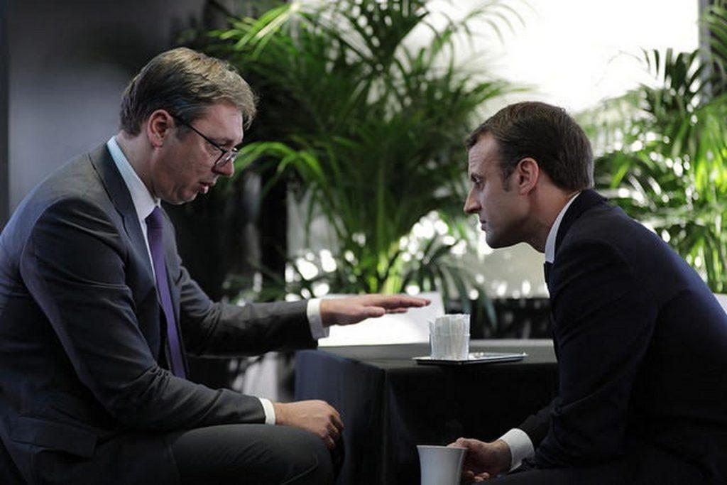 Vučić u utorak s Makronom u Parizu