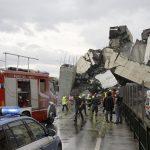 Strašna tragedija: Desetine mrtvih ispod srušenog nadvožnjaka u Italiji (video)