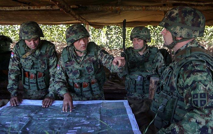 Elastična odbrana: Ruski i srpski vojnici na zajedničkim vežbama