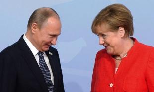 """""""Blumberg"""": Tramp gura Merkelovu u """"brak iz računa"""" s Putinom"""