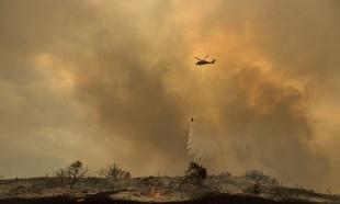 DRAMA U BRDIMA IZNAD BUDVE: Požar na više mesta