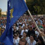 Održžan protest u Prištini, tražže se ostavke Haradinaja i Ljumezija