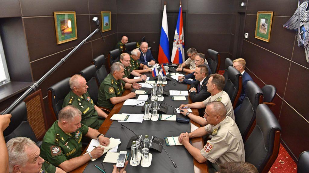 Vulin i Šojgu: Nikad sankcije Rusiji, podrška Moskve po pitanju KiM