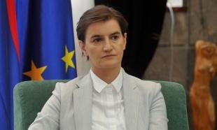 Brnabić: Nema najave da će Tači doći u Preševo, mora prvo da se obrati Vladi Srbije
