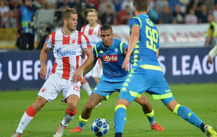 Zvezdin povratak u elitu Evrope: Veliki bod protiv Napolija  (foto)