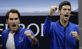 Novak: Srce mi je stalo na tri sekunde; Rodžer: Brate, zato ne igramo parove (VIDEO)