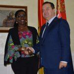 Dačić sa ministarkom komunikacija Gane