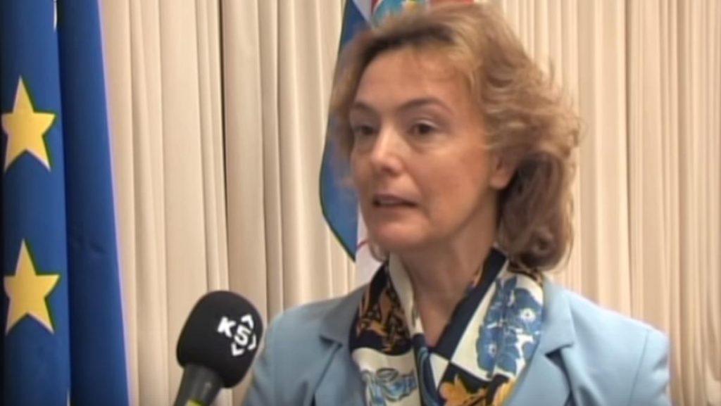 ZABRINUTA ZBOG PREKRAJANJA GRANICA Šefica hrvatske diplomatije u Vašingtonu govorila o dijalogu Beograda i Prištine