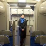 stjuardesa stjuardese avion er srbija air serbia