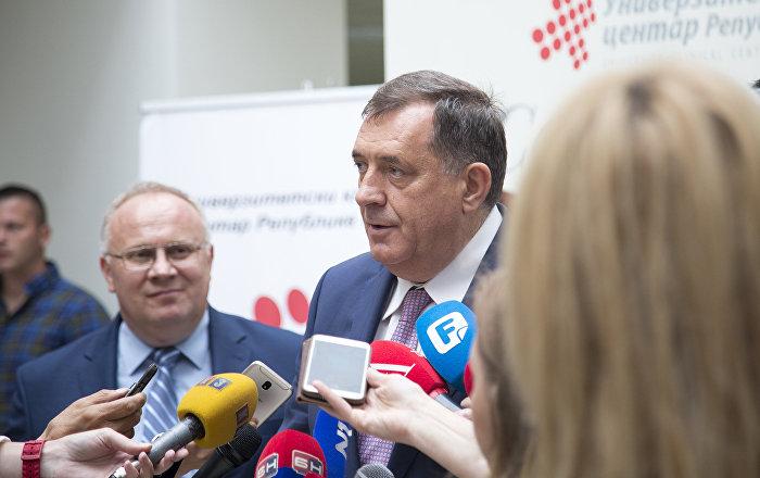 Dodik: Ivanića ne vidim kao konkurenciju