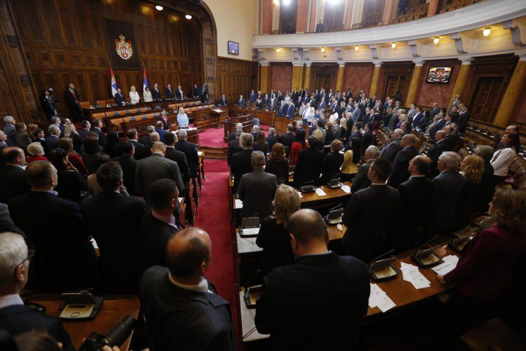 MINUT ĆUTANJA ZA STRADALE Sednica parlamenta nastavljena, poslanici odali poštu poginulima u udesima