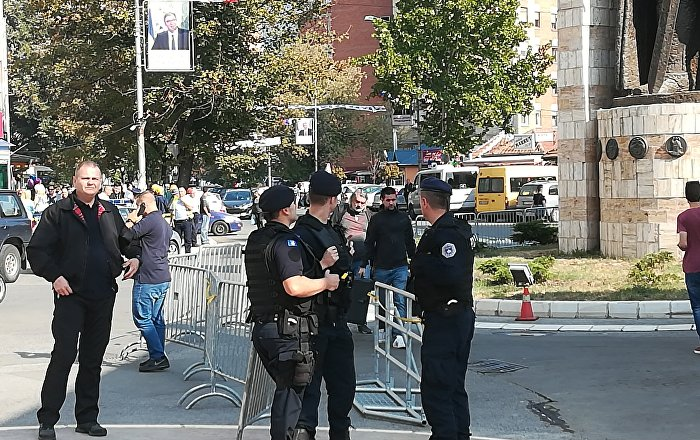Ranjen policajac u Severnoj Mitrovici
