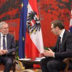 Vučić sa Van der Belenom: Molio sam predsednika Austrije da se uzdrže kada je reč o Kosovu u Interpolu
