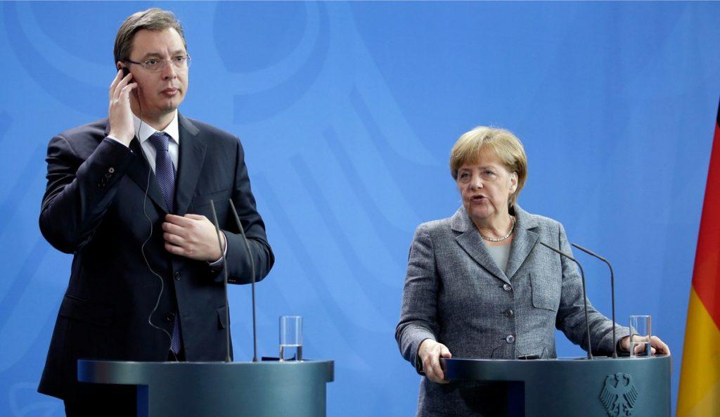 Vučić: Neću prevariti Angelu Merkel, rekao sam to i Rusiji