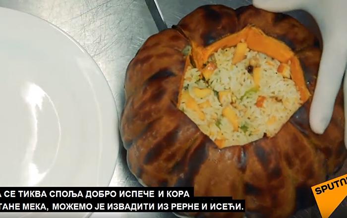 """""""Kuvajte sa Sputnjikom"""": Tikva sa slatkim nadevom (video)"""