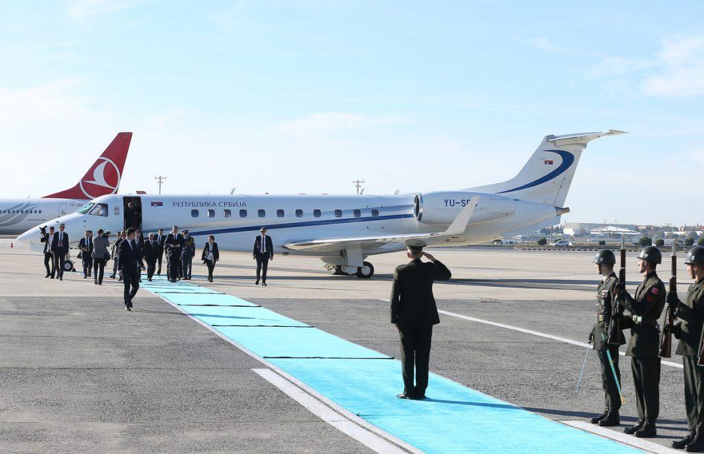 YU-SRB, ORLOVI, ZASTAVA... Ovako izgleda NOVI AVION Vlade Srbije (FOTO)