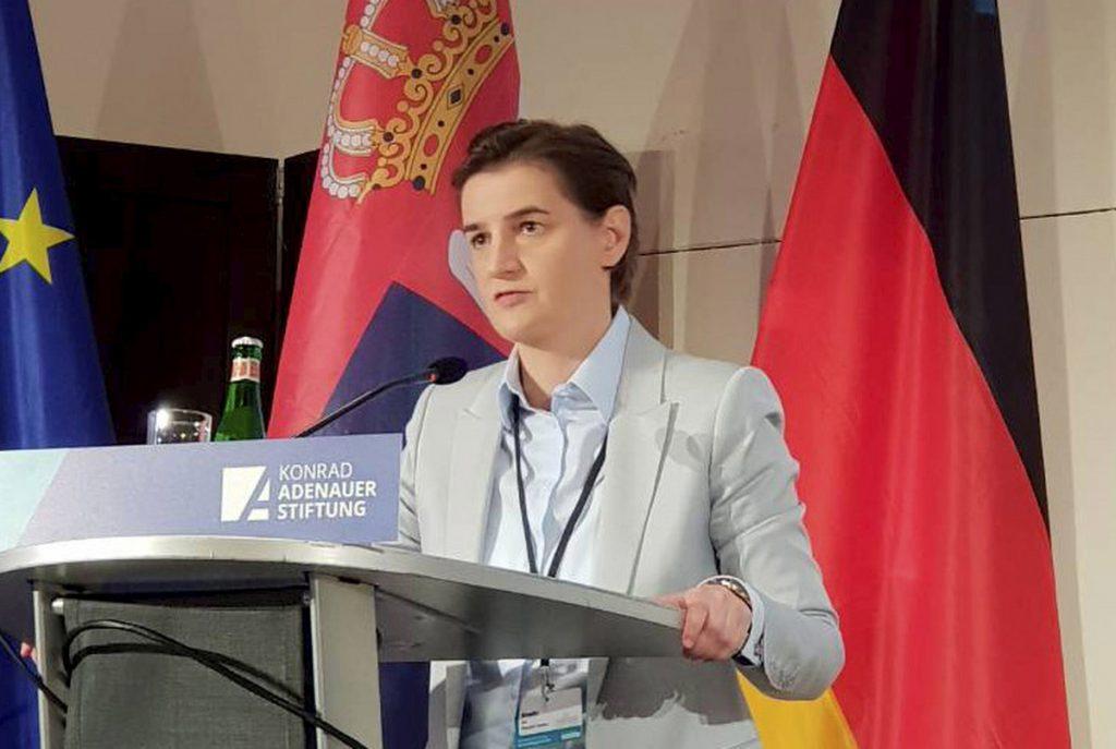 Brnabić: Rešenje za Kosovo i Metohiju je kompromis između dve strane