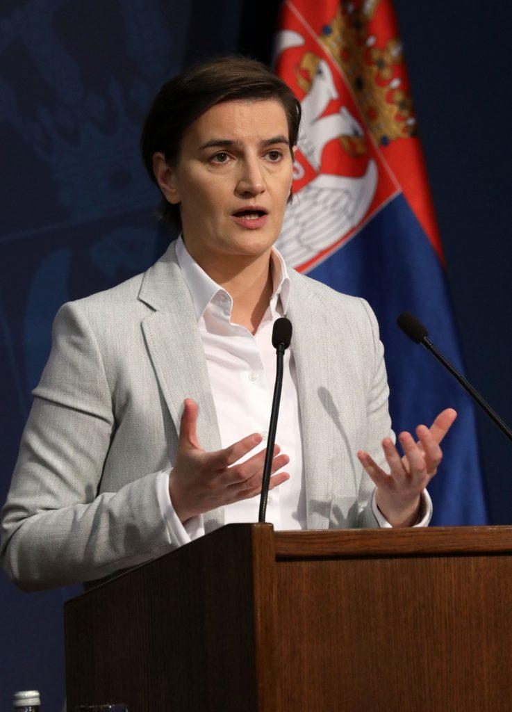 Brnabić: Izmene Ustava u Skupštini Srbije do kraja godine