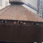 U Belorusiji napravljen tenk prema skicama Da Vinčija (video)