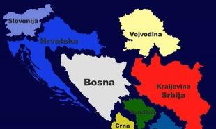 SKANDALOZNA MAPA IZ UGLjANINOVOG TABORA: Džudžo otcepio Sandžak i Vojvodinu