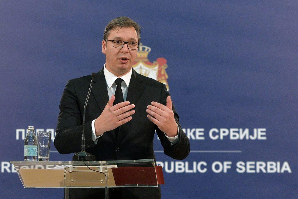 """""""NE PRISTAJEMO NA UCENE"""" Vučić: Povucite vaše varvarske tarife, kad ih povučete spremni smo da razgovaramo"""