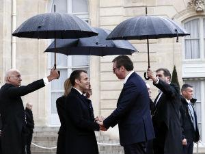 Vučić o susretima u Parizu: Podižemo ugled Srbije