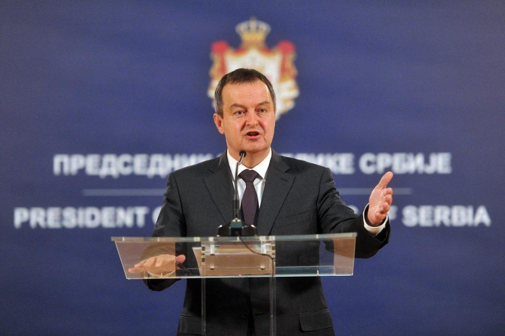 Dačić: Siguran sam da će većina članica Saveta bezbednosti UN osuditi odluku Prištine