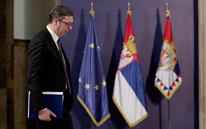 Politiko: Vučić dobio pismo od Trampa slične sadržine kao ono koje je primio Tači