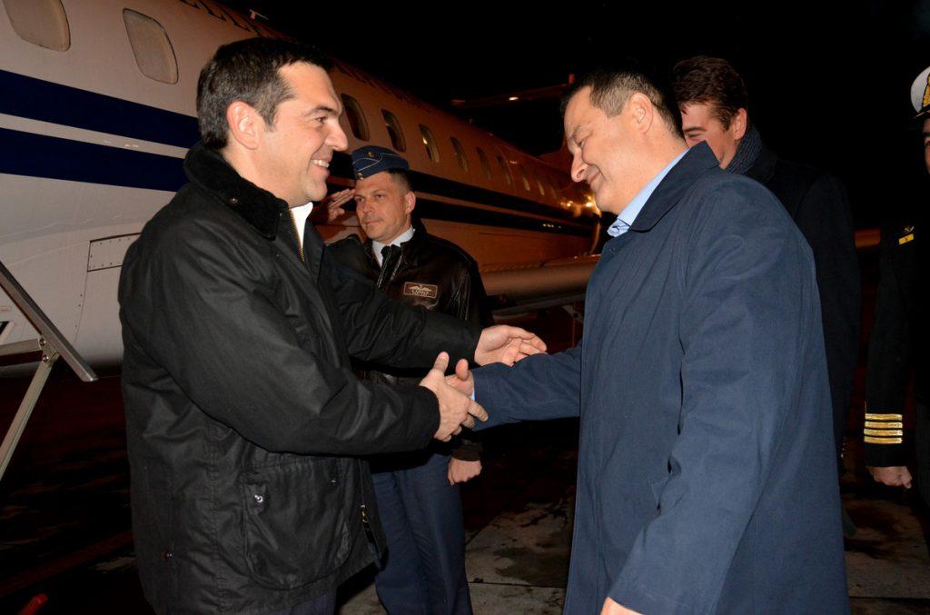 Cipras stigao u Beograd, sutra sastanak s Vučićem
