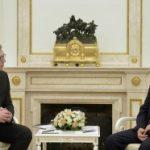Putin i Vučić u hramu na Vračaru
