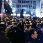 U Beogradu održan protest građana zbog napada na Borka Stefanovića