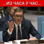 Vučić pred SB UN: Priština ugrozila sve Srbe na Kosovu