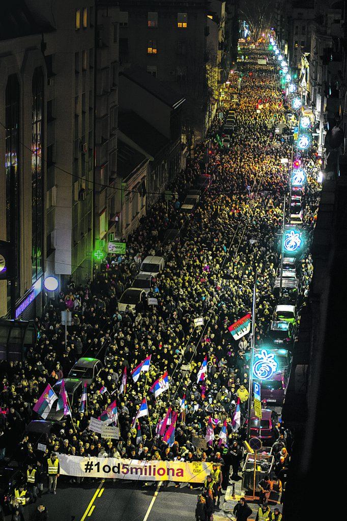 """""""SRBIJA VIŠE NEĆE TRPETI I ĆUTATI"""" Borko Stefanović: Protest će jačati dok vlast ne ispuni zahteve"""