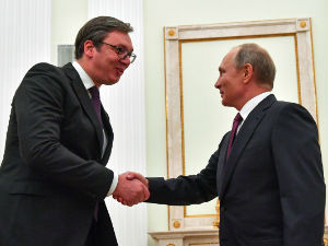 Putin potpisao: Vučiću orden Aleksandra Nevskog