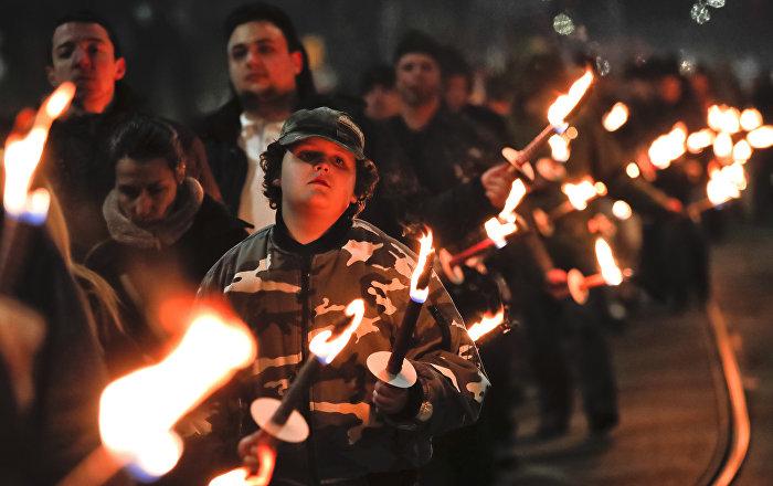 Počast naci-generalu: Marš ekstremne desnice u Sofiji