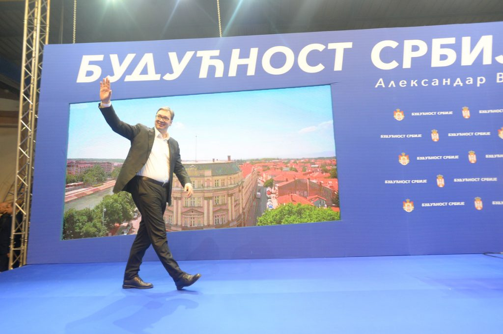 Vučić danas u Rasinskom okrugu