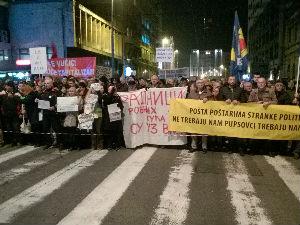 """Deseti protest """"Jedan od pet miliona"""""""