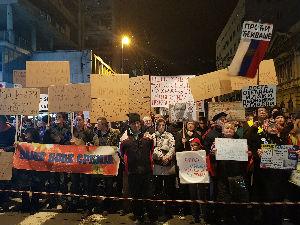 "Deveti protest ""Jedan od pet miliona"" u Beogradu"