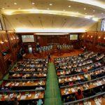 Svečana sednica kosovskog parlamenta, Rama jedini strani zvaničnik