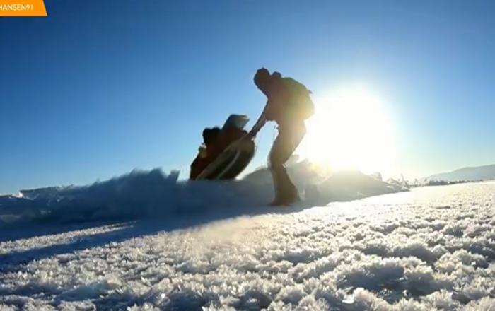 Ledena avantura: 700 kilometara peške po zaleđenom Bajkalu