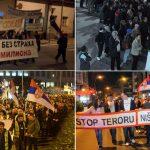 """Protesti """"Jedan od pet miliona"""" širom Srbije (FOTO)"""