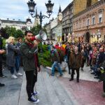 """PROTESTI """"1 OD 5 MILIONA"""" Obradović najavio formiranje """"slobodne zone"""" ispred zgrade Predsedništva u Beogradu"""