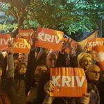 """Deseti građanski protest u Podgorici: Katnić kriv zbog """"moždanog udara"""""""