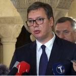 Vučić na Saboru SPC: Govorio sam o svemu onome što tišti naš narod