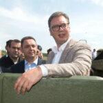 Vučić: Vozila BRDM-2 imaju preventivno dejstvo, nemamo osvajačkih planova